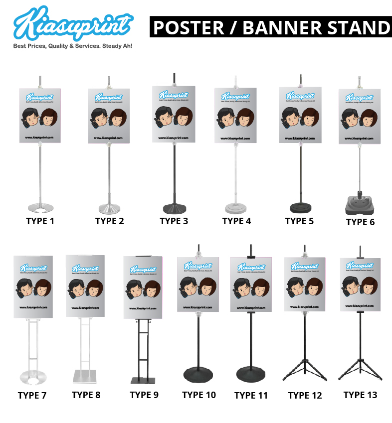 Poster Stand / Banner Stand