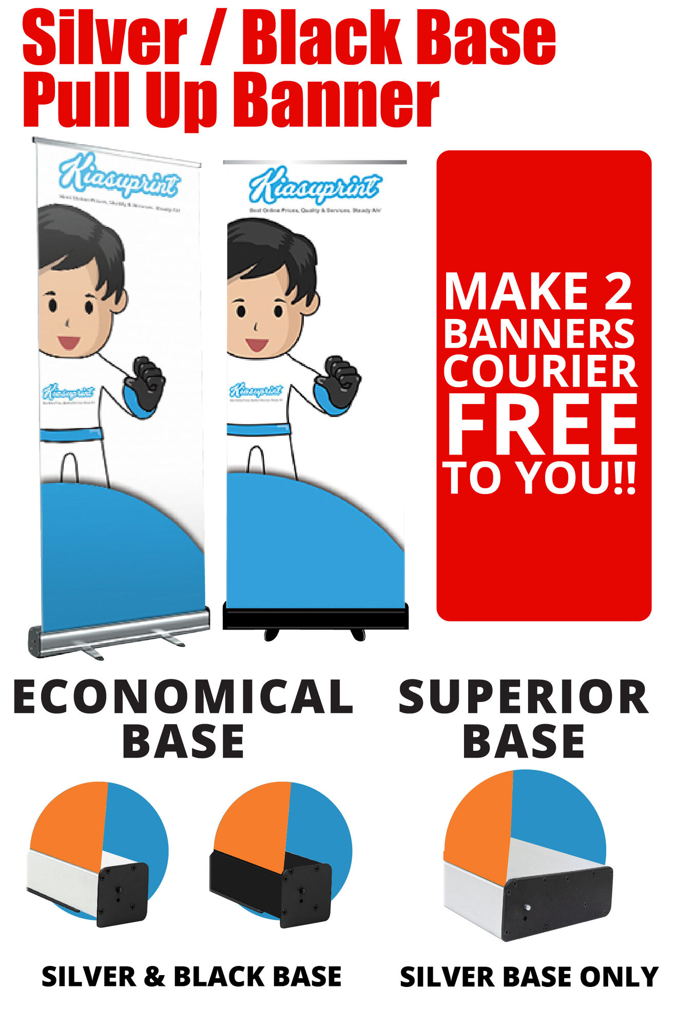 Pull Up / Roll Up Banner Stand